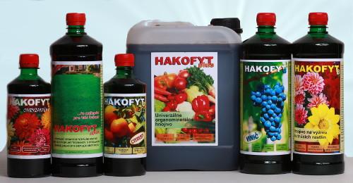 Komplexné listové organominerálne hnojivá Hakofyt