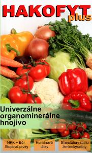 Hakofyt plus - univerzálne organominerálne hnojivo
